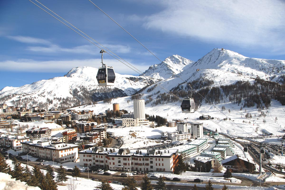 Sestriere - Ideally suited for all levels of Skiing a great Location for everyone to enjoy